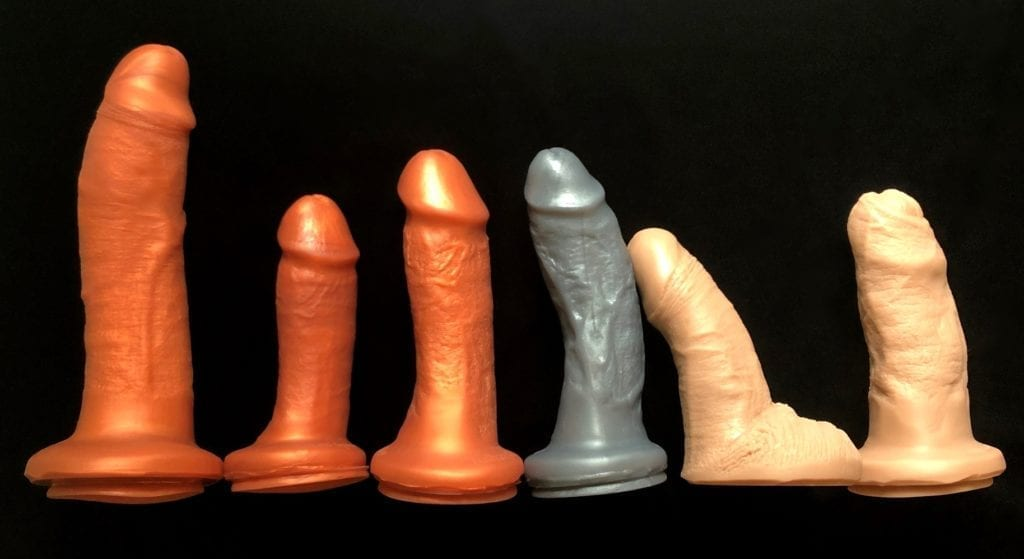 SquarePegToys Realistic Dildo SuperSoft silicone ds