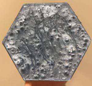 Split Peaches Rivetor dildo silver base
