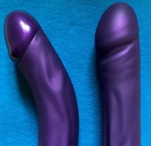 Tantus Adam Super Soft Tantus Vamp Super Soft side view