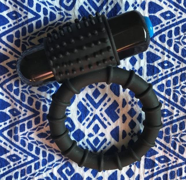 Doc Johnson Optimale Vibrating Cock Ring Texture