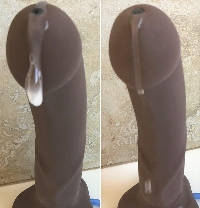 POP ejaculating Sliquid Silk vs. Sassy