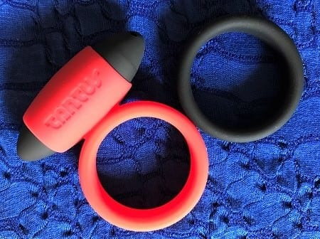 Tantus Vibrating Super Soft C-Ring and normal C-Ring featured