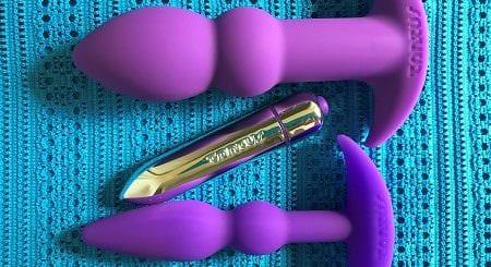 Tantus Perfect Plug Kit purple