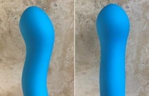 NS Novelties Colours Wave silicone dildo view comparison