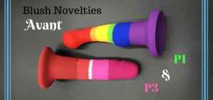 Blush Novelties Avant Pride dildos P1 P3 featured