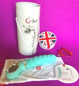 FT London GJack2 Bioskin vibrator packaging