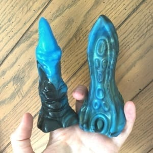 Strange Bedfellas Dragon Claw Tentacle vibe sleeves fingers