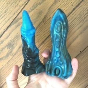 Strange Bedfellas Dragon Claw Tentacle vibe sleeves fingers