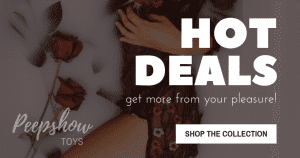 Peepshow Toys Hot Deals Banner Best Sex Toy Deals Body Safe Sex Toys Phallophile Reviews