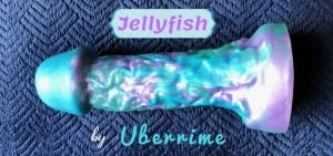Uberrime Jellyfish Handmade Silicone Dildo featured
