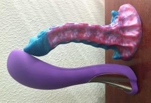Dorr Silker G-spot vibrator Uberrime Xenuphora silicone tentacle dildo