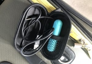 BMS Essential Bullet PowerBullet Vibrator travel case