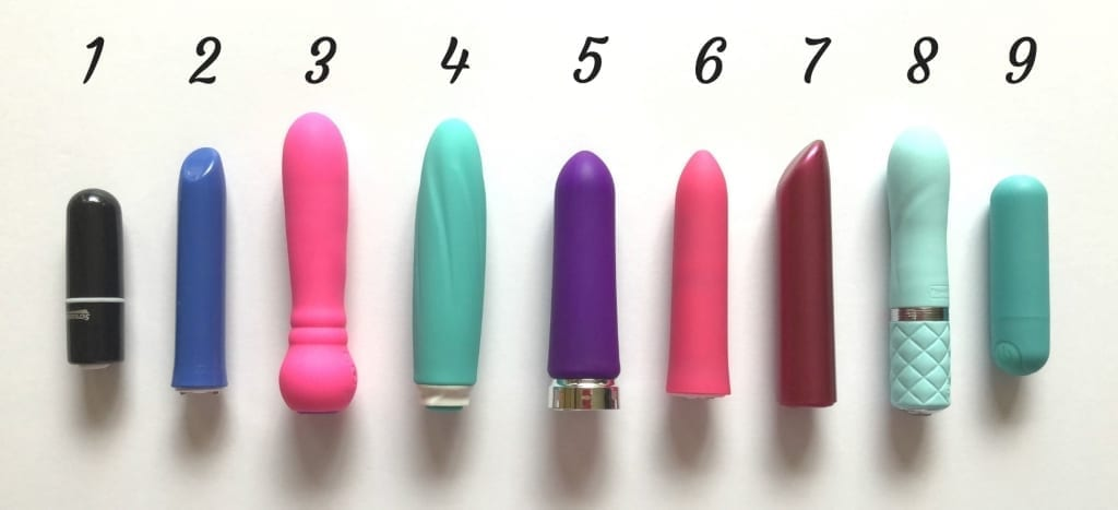 Waterproof rechargeable affordable bullet vibrator comparison lineup