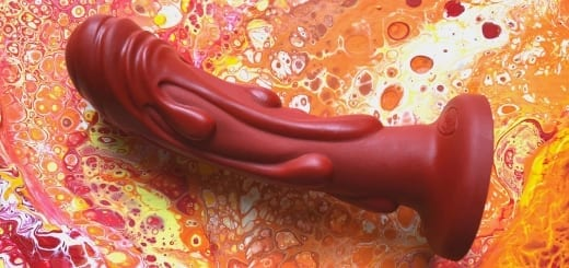 Tantus Magma dildo textured silicone Phallophile Reviews