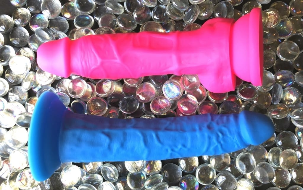 Blush Neo Elite Dual Density Silicone Dildos 7.5 Inch dual layer dildos