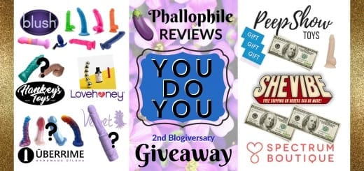 Phallophile Reviews Free Sex Toy Giveaway 2nd Blogiversary You Do You