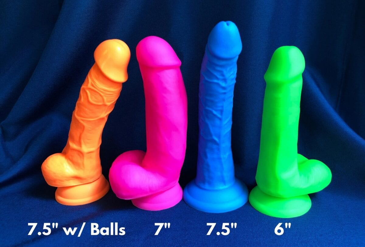 Neo Elite dildos dual-density silicone 4 shapes compared