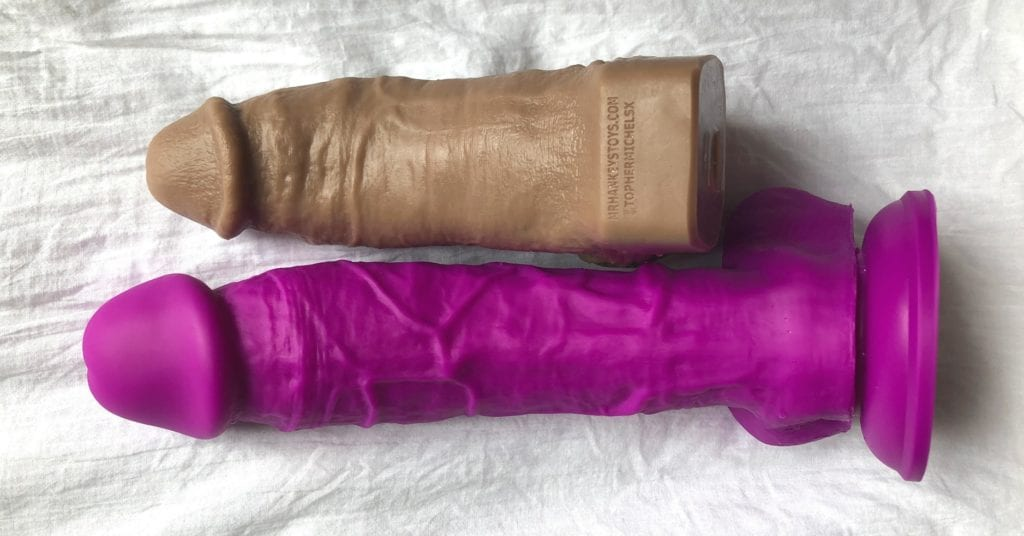 Hankey's Toys Topher Michels NS Colours Dual Density 8 Inch dildos