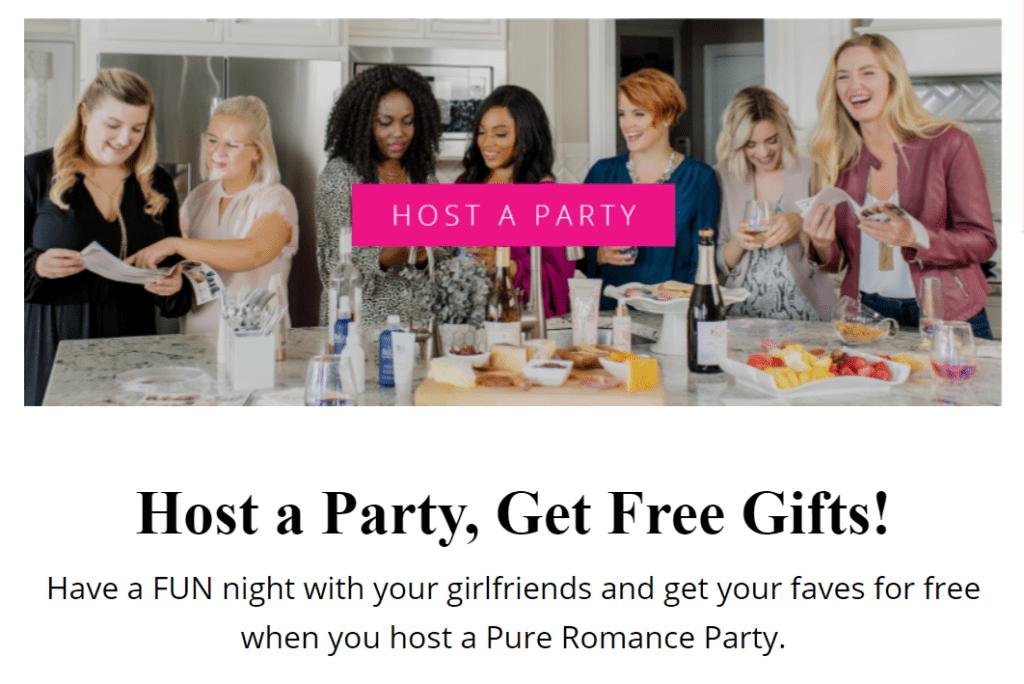 Pure Romance free gifts snip