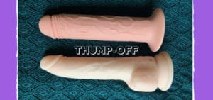 THUMP-OFF BMS Naked Addiction Thrusting Dildo vs. XR Thump It dildo review