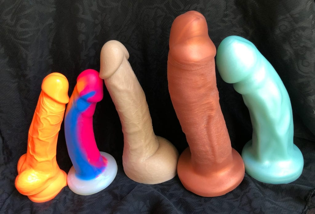 All Male Sex toys guide dildo lineup