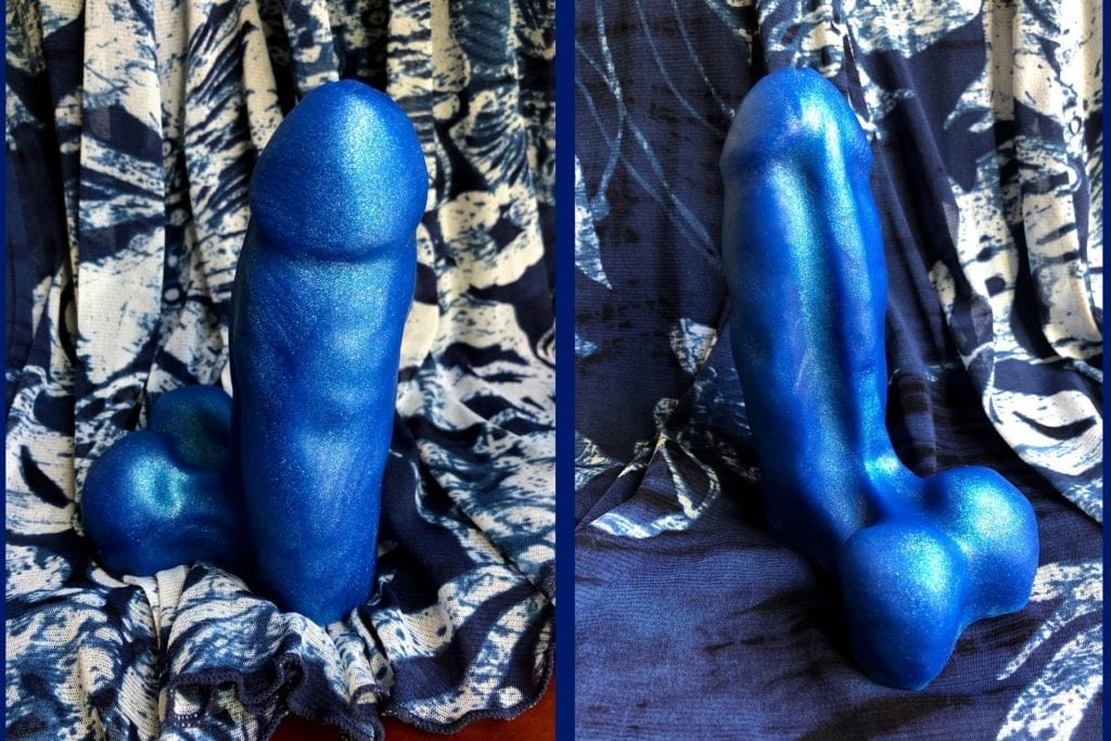 Oxballs Buddy dildo review front and back sides