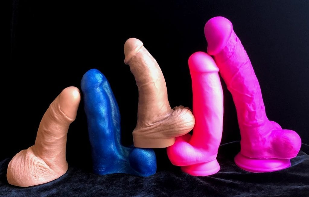 SquarePegToys Dirk, Oxballs Buddy, Mr. Hankey's Toys Topher Michels, Blush Neo Elite 7, NS Colours Dual Density 8