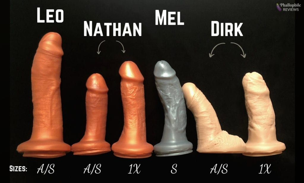 SquarePegToys realistic dildo lineup SuperSoft silicone