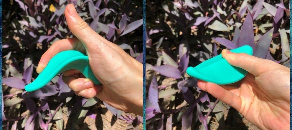 Romp Wave vibrator flexibility