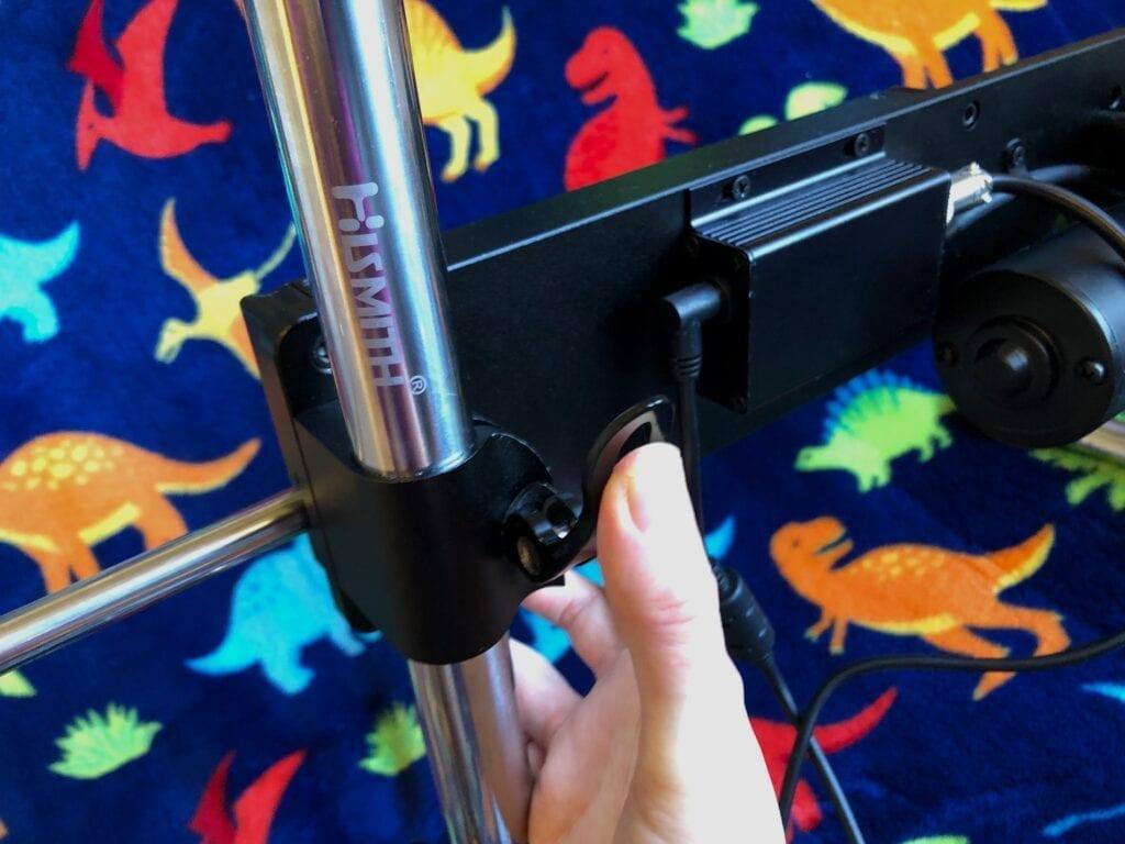 Hismith Premium sex machine review adjustable positioning