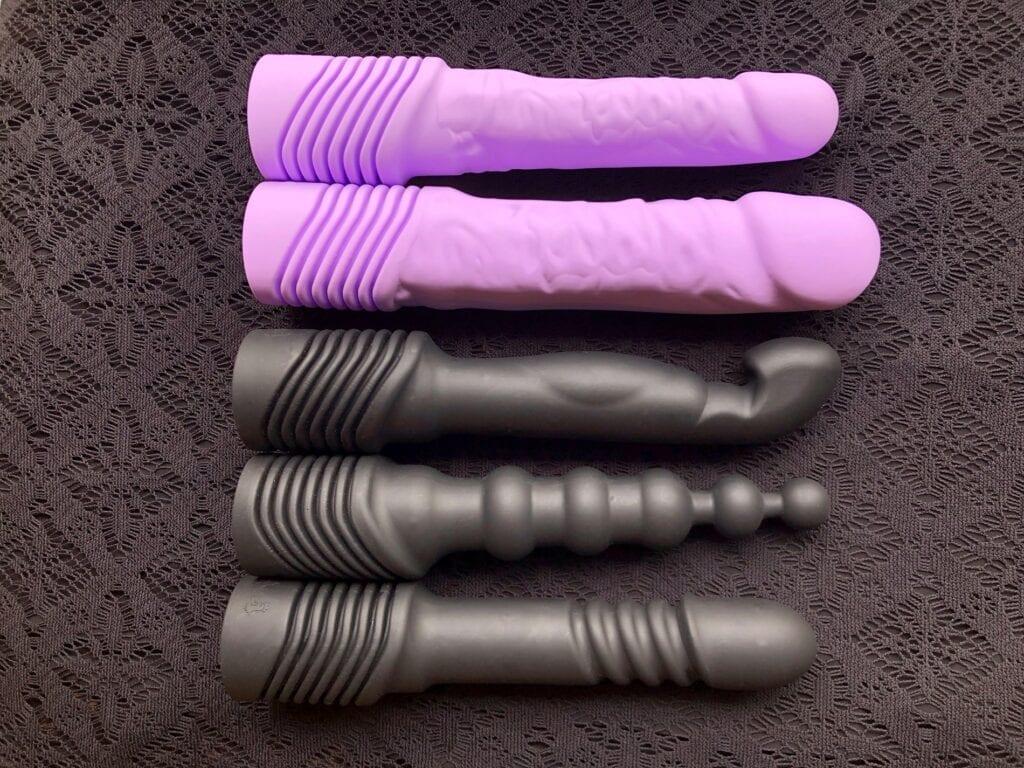 Velvet Thruster Prime review interchangeable shafts
