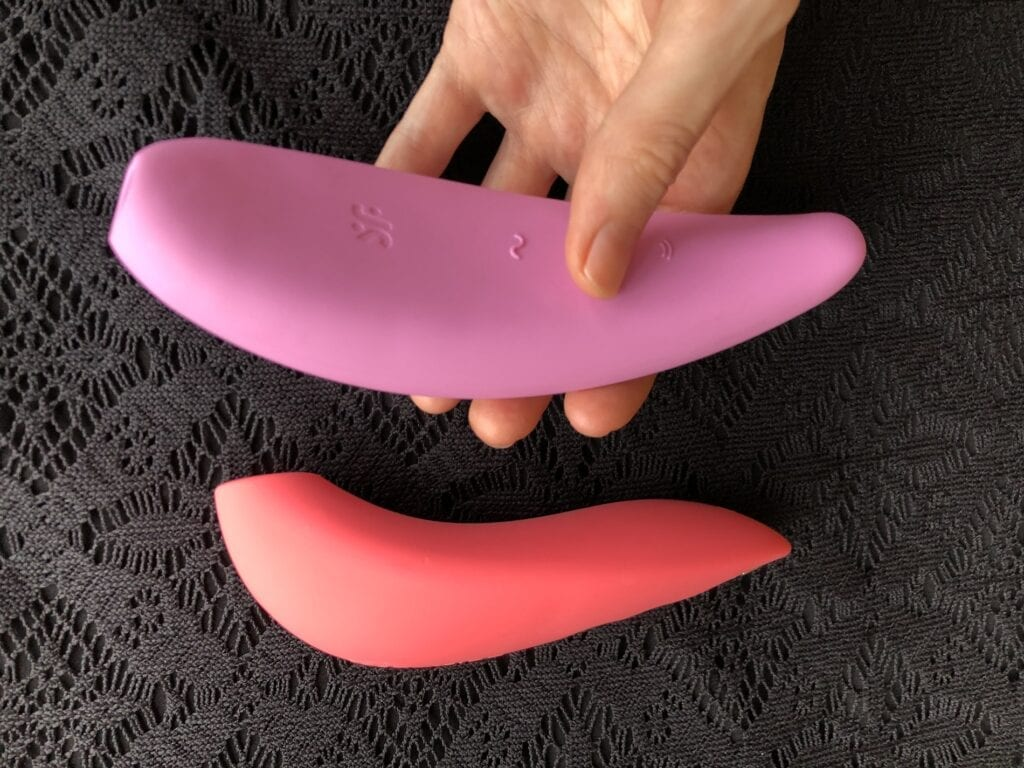 Satisfyer Curvy Curvy 3+ vs We-Vibe Melt shape