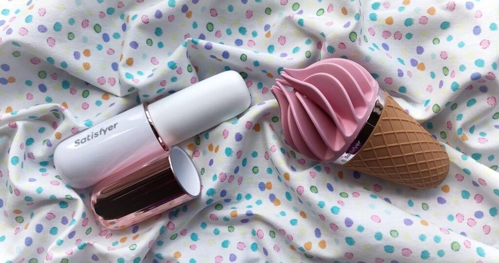 Satisfyer bullet vibrator Satisfyer Sweet Treat ed crop