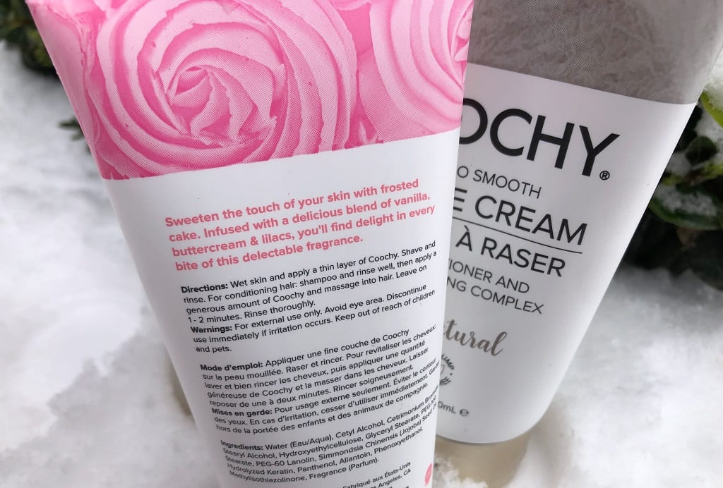 Coochy Shave Cream review instructions