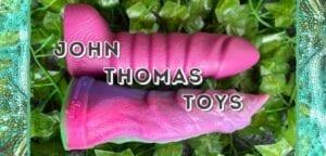 John Thomas Toys review silicone fantasy dildos Devil's Finger & Slinky Santiago
