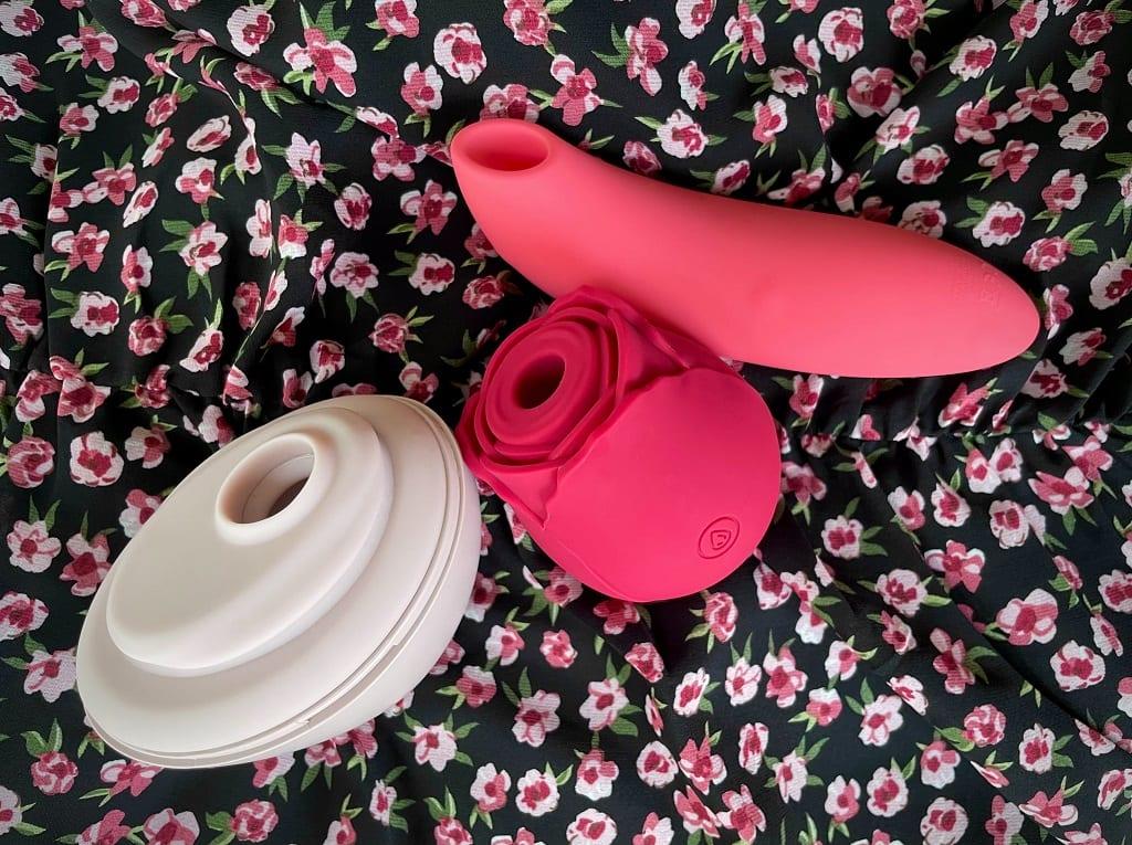 NS Inya Rose vibrator review_ vs. Lora DiCarlo Baci, We-Vibe Melt