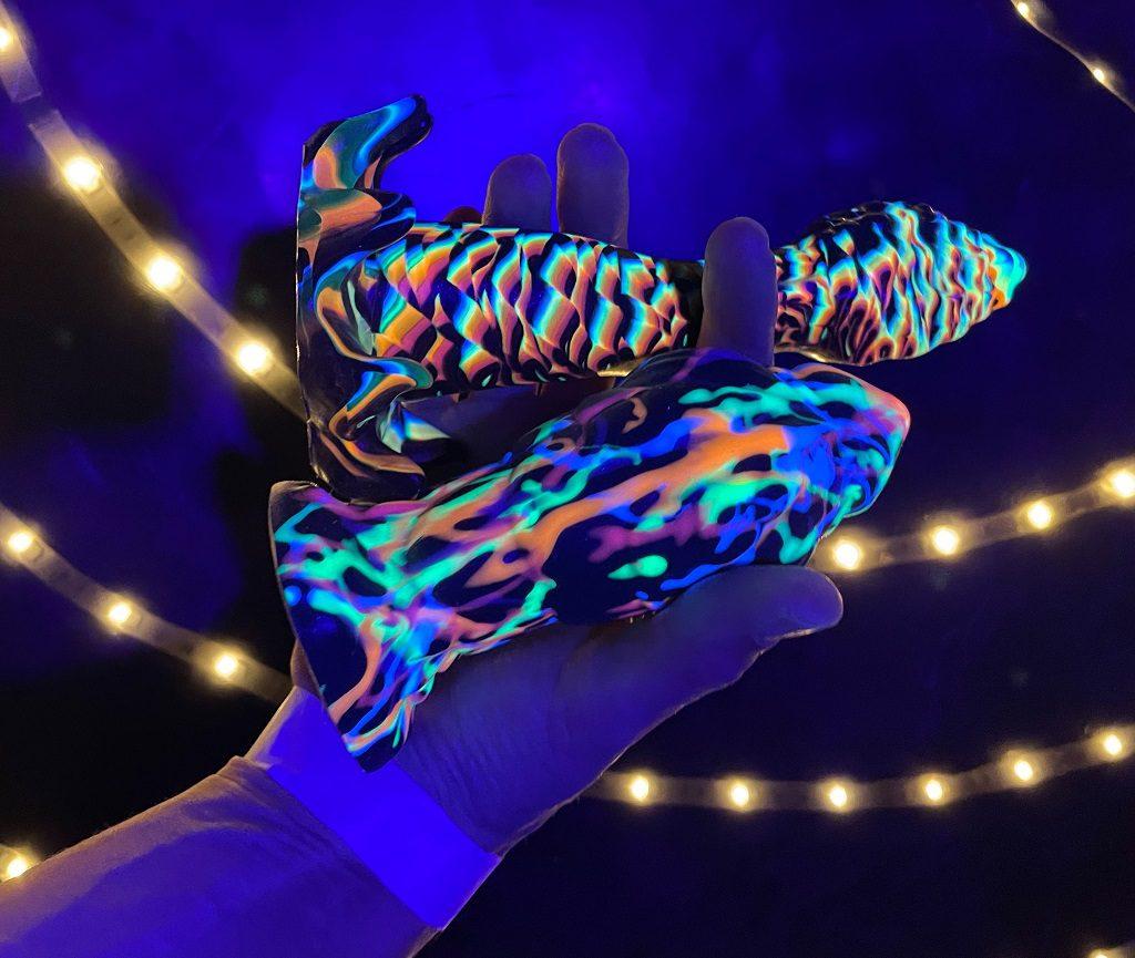 Fantasy Grove review UV reactive blacklight dildos fantasy sex toys