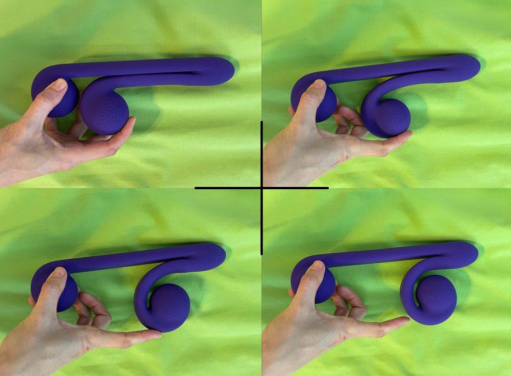Snail Vibe review clitoral stimulator flexibility
